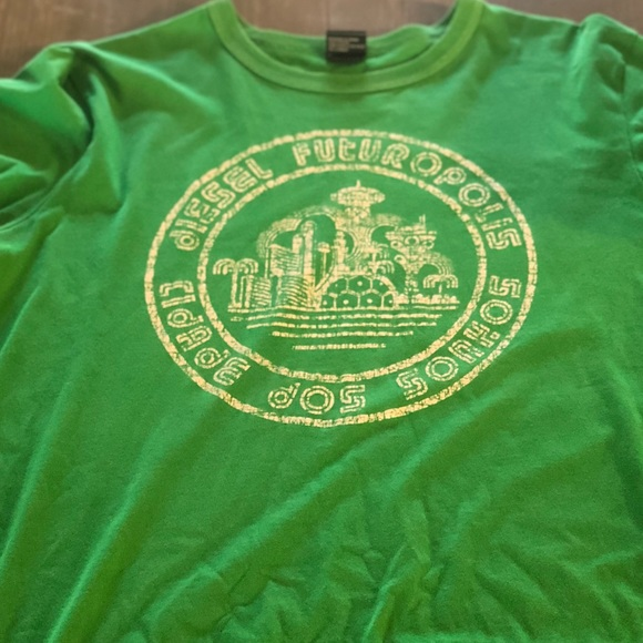 63eef8768 Diesel Shirts | Mens Tshirt Short Sleeve Large Like Med | Poshmark